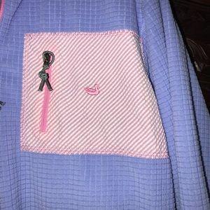 Southern Marsh Tops - EUC Southern Marsh purple/pink Sz S pullover!